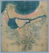 対象地域:福岡市 使用地図:福岡御城下絵図