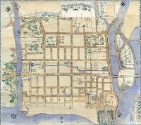 対象地域:福岡市 使用地図:博多旧図