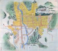 対象地域:筑前地区 使用地図:筑前秋月藩館下之図