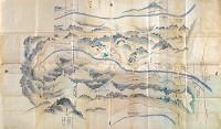 対象地域:京築地方 使用地図:豊前国城井谷絵図