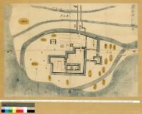 対象地域:筑後地区 使用地図:筑後柳川城絵図